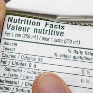 estudiar máster en etiquetado nutricional de alimentos